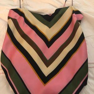 Zara scarf tank top